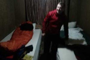Bedroom in tea house