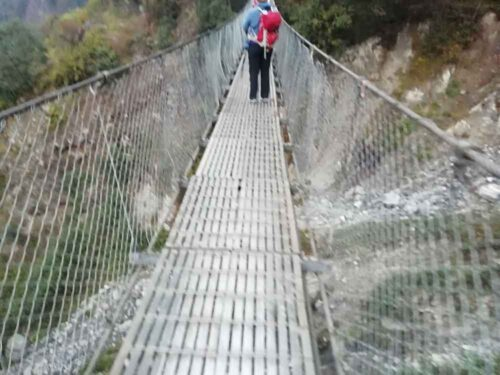 Bridge on trek