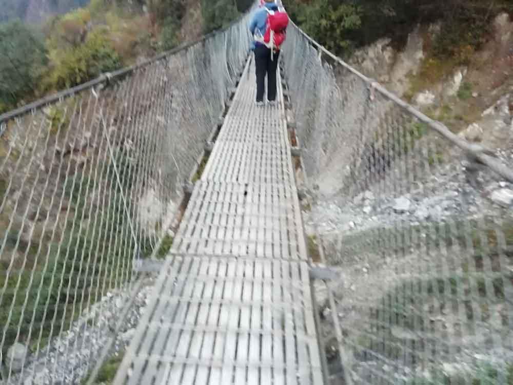 Bridge on trek