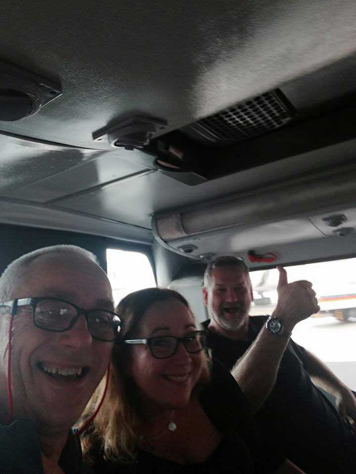 On our way to Kathmandu
