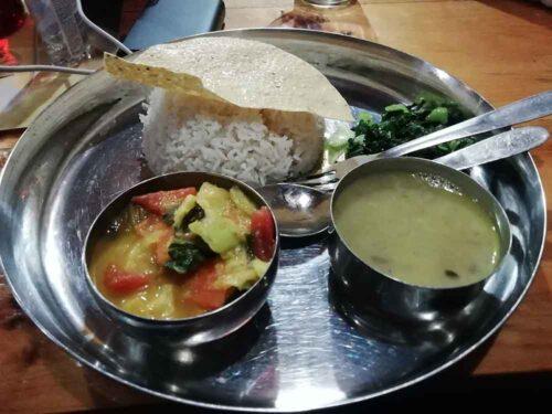 Nepalese dinner