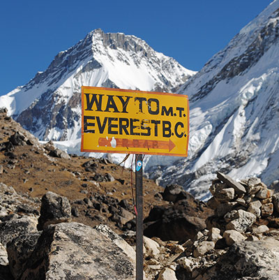 Way to Base Camp Everest