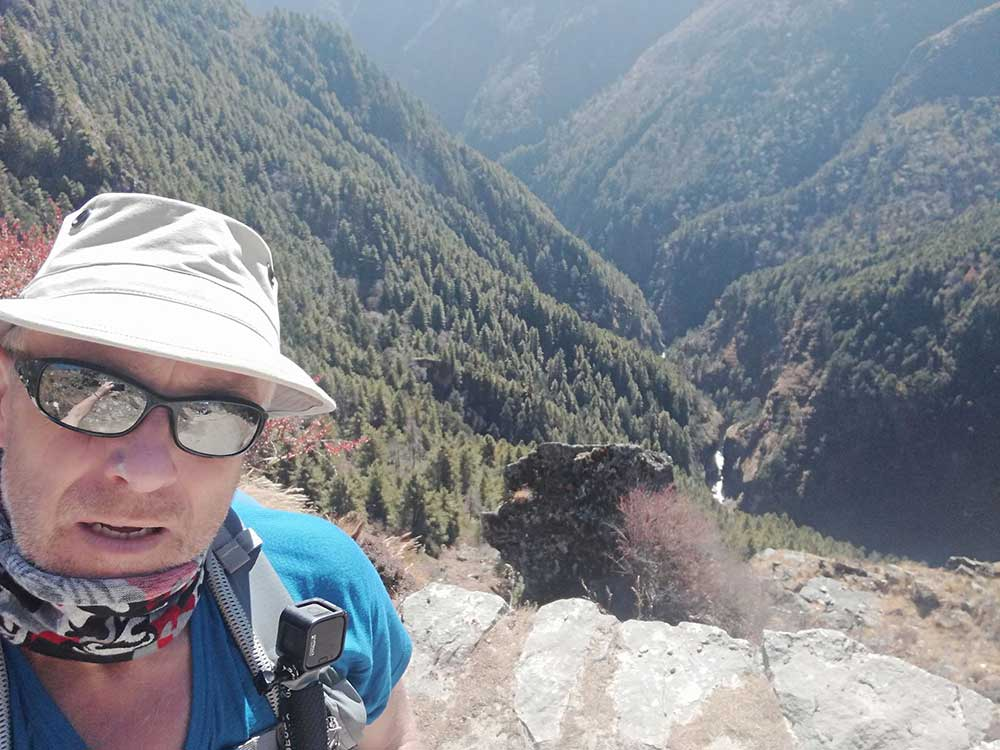 It's a truly beautiful place but a brutal challenge.  But I'm doing well.  I'm at about 14500 ft now at a place called Dingboche. I have been suffering a few headaches today due to the altitude,  but luckily we are here until Monday to acclimatise to the altitude.